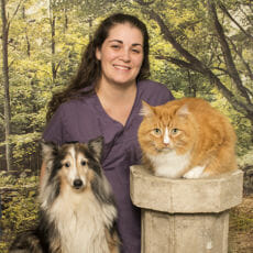 Nicole Dupuis Registered Veterinary Technician at Park Road Veterinary Clinic