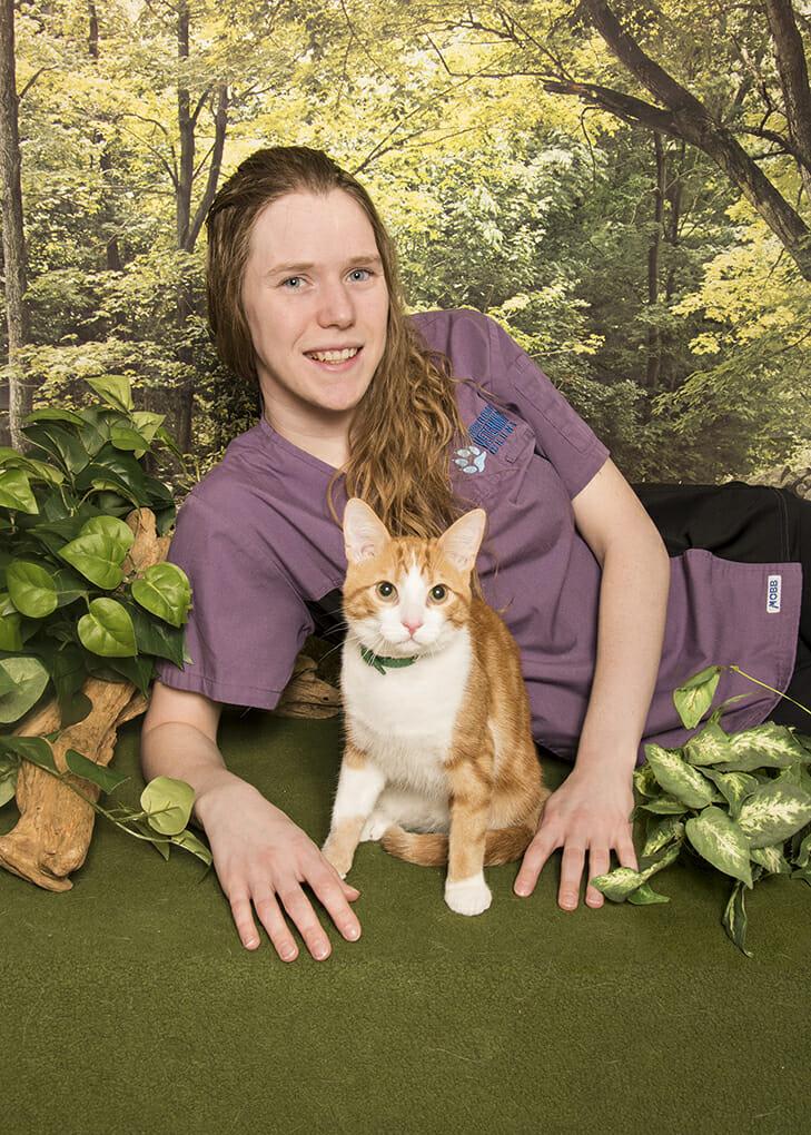 Melissa Cheyne Client Care Representative at Park Road Veterinary Clinic